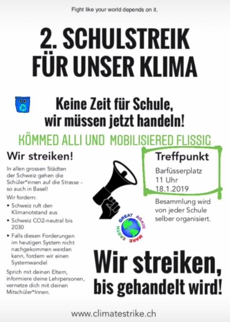 Ein Bild zum Beitrag Klimastreik- kömmed alli!🌎❤️♻️