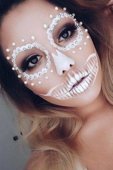 Ein Bild zum Beitrag Auflösung Halloween Make Up s