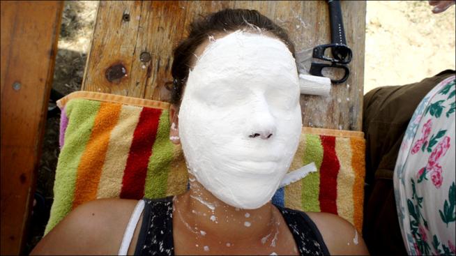 Ein Bild zum Beitrag Gipsmaske