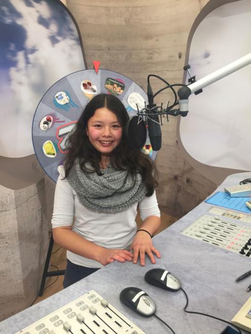 Ein Bild zum Beitrag Besuch im Studio