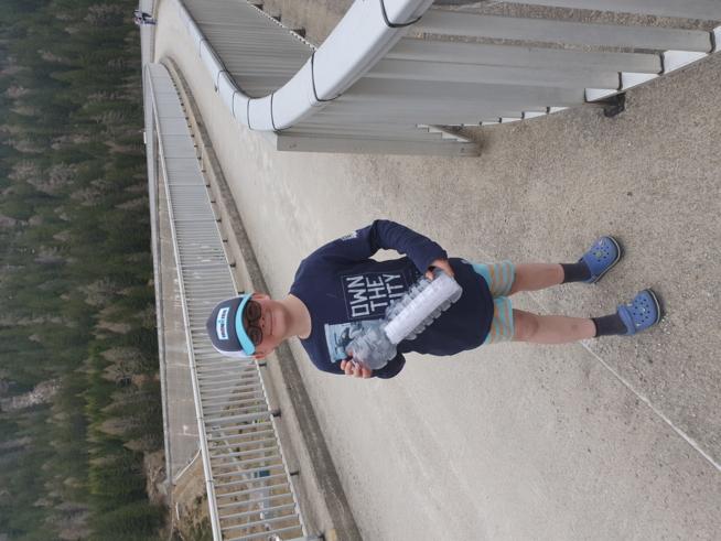 Ein Bild zum Beitrag Flaschenpost im San Bernarndinosee