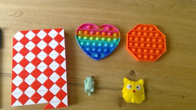 Ein Bild zum Beitrag Fidget Toys