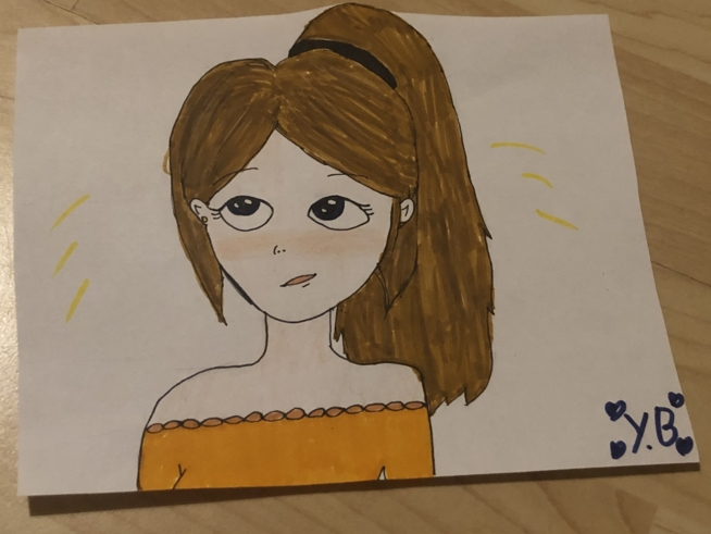 Ein Bild zum Beitrag Zeichnen mit Yasmine!
