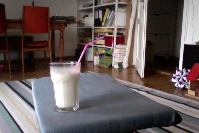 Ein Bild zum Beitrag Banana Milchshake